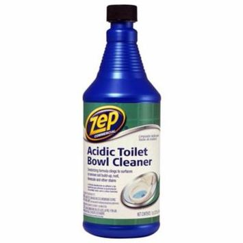 Zep ZUATB32 Commercial Acidic Toilet Bowl Cleaner, 32 Ounce 3 Pack