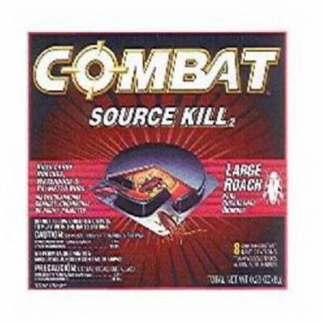 8 Count Combat Source Kill Roach Killing System For Large Roaches 2PK