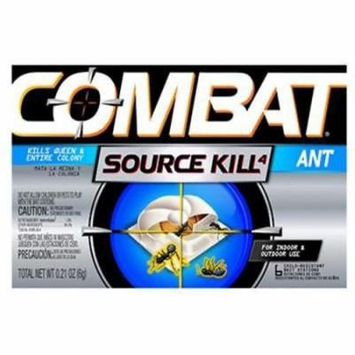 6 Count Combat Ant Killing System Child Resistant Bait Station 4PK