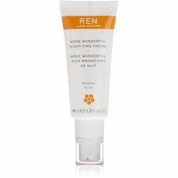 6 Pack - Ren Wake Wonderful Night-Time Facial Treatment 1.3 oz