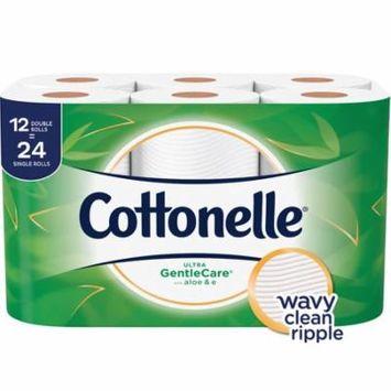 Cottonelle Ultra Gentle Care, 12 Double Rolls, Toilet Paper