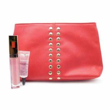 Elizabeth Arden Red Bag Set: Luminous Lip Gloss Sweet Pink .22 Fl Oz., Crystal Clear Lip Gloss .19 Oz.