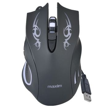 Maxim MX-M3050 Illuminating USB Wired Optical Scroll Gaming Mouse w/ 2400 DPI