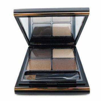 Elizabeth Arden Color Intrigue Eyeshadow Quad Sueded Browns .2 Oz. (New, No Box)