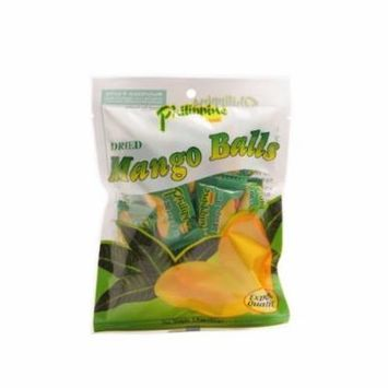 Philippine Brand Dried Mango Balls 3.5-Ounce Pouches (Pack of 10)