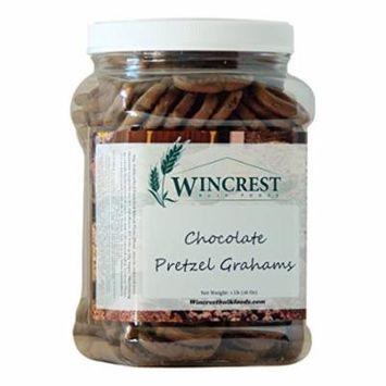 Chocolate Pretzels Grahams - 1 Lb Tub