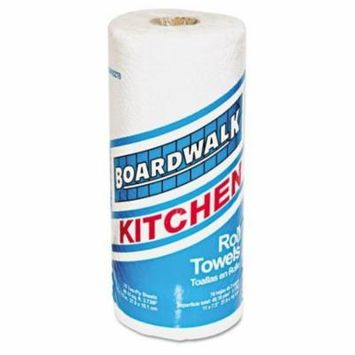 Boardwalk Paper Towel Rolls, Perforated, Two-Ply, 11 x 8, White, 70/Roll - Includes 30 rolls of 70 each.