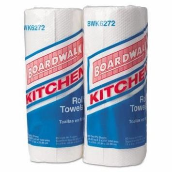 Boardwalk Paper Towel Rolls, Perforated, 2-Ply, White - Includes 30 rolls of 85 each.