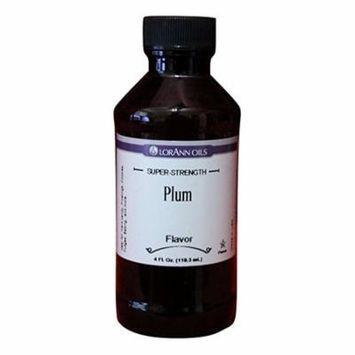 PLUM Flavor LorAnn Hard Candy Flavoring Oil - 4 oz.