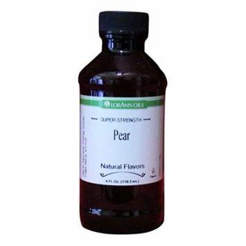 PEAR Flavor LorAnn Hard Candy Flavoring Oil - 4 oz.