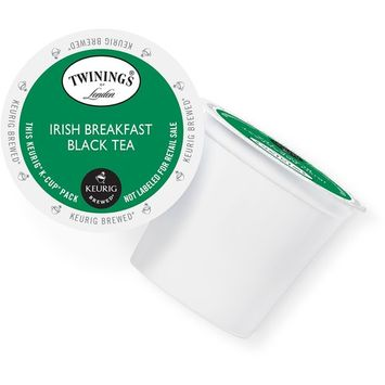 Twining's of London Irish Breakfast Tea, K-Cup Portion Pack for Keurig Brewers (96 Count)