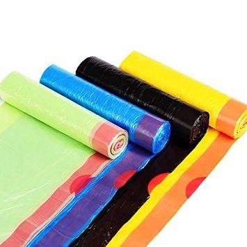 Drawstring Trash Bags,Kitchen Garbage Bags,Wastebasket Bags,5.3Gallon