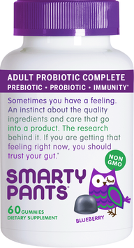 Smarty Pants Adult Probiotic Complete Blueberry SmartyPants 60 Gummy