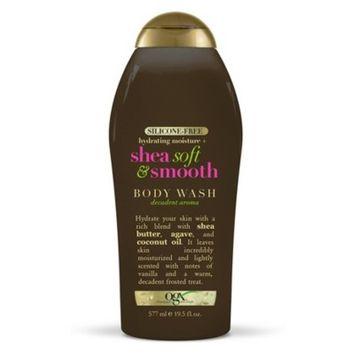OGX Shea Soft & Smooth Body Wash - 19.5oz