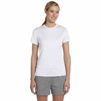 Hanes 4830 Ladies Cool Dri T-Shirt - White - 3X-Large