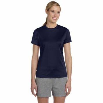 Hanes 4830 Ladies Cool Dri T-Shirt - Navy - 3X-Large