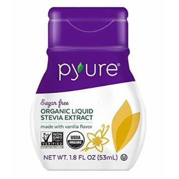 Pyure Stevia,Og2,Van,Lqd Drops 1.8 Oz (Pack Of 6)