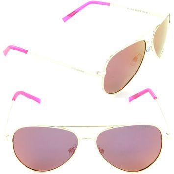 Polaroid PLD 8015/N J5G-AI Aviator Sunglasses Gold/Brown Mirror Polarized Lens