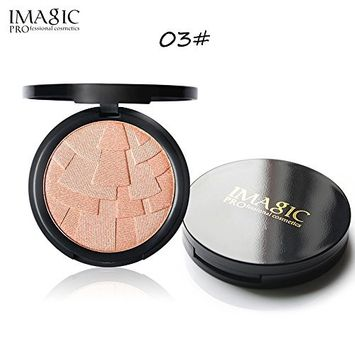 Fenleo Natural Concealer Makeup Makeup Powder Face Powder Panel Contour Color Cosmetics 0.32oz
