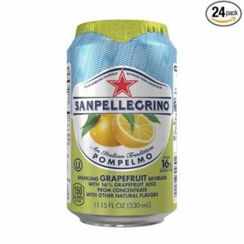 Nestle Waters North America 33351 11.15 oz Can, Sparkling Fruit Beverages, Pompelmo or Grape Fruit