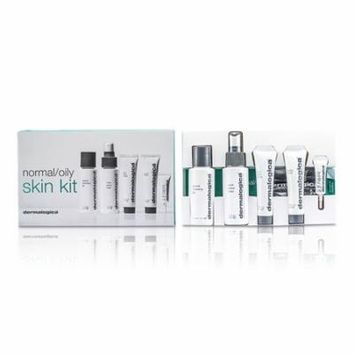 Dermalogica - Normal/ Oily Skin Kit: Cleansing Gel + Toner + Face Scrub + Active Moist + Eye Care -5pcs