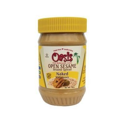 Sesame Butter (Naked with Honey) 3-15oz Jars