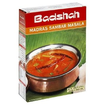 Badshah Masala, Madras Sambar Powder, 3.5-Ounce Box (Pack of 12)