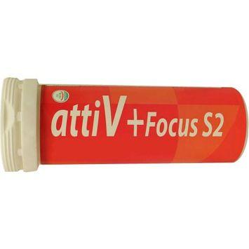 attiV Focus S2 Energy Vitamin Seltzer 5 Tablets Lemon Flavor