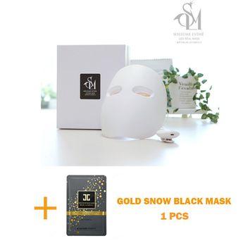 2017 New SOLLUME ESTHE Korea Skin Rejuvenation Anti-Aging LED Photon Light Therapy Facial Real Mask+JAYJUN Gold Snow Black Mask(Made in Korea)