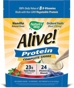 Nature's Way Alive! Vanilla Protein Shake Dietary Supplement - Set of Three