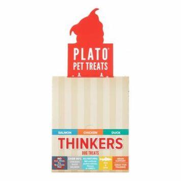 Plato Treats Thinkers Variety Pack Salmon & Chicken & Duck Dog Treats, 36 Ct
