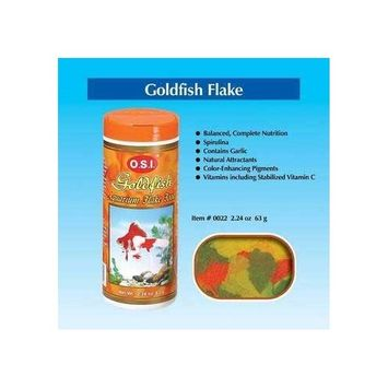 OSI Goldfish Flake Fish Food 2.24oz