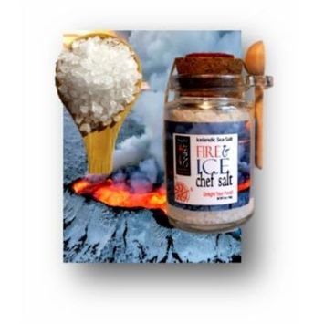 FIRE & ICE Icelandic Sea Salt, The EXOTICS Collection