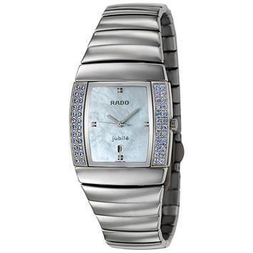 Rado Sintra Jubile Ceramos & Blue Sapphire Womens Luxury Watch R13579912