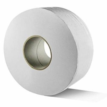 Lollicup JS-JRT1000 Karat 2-Ply Jumbo Roll Bathroom Tissue, 9