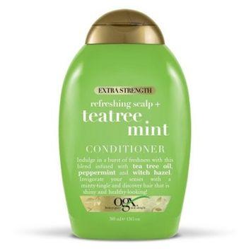 OGX Extra Strength Refreshing Scalp + Tea Tree Mint Conditioner - 13 fl oz