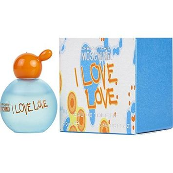 I LOVE LOVE by Moschino EDT .17 OZ MINI for WOMEN ---(Package Of 6)