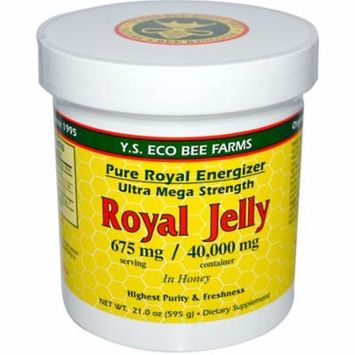 Y.S. Eco Bee Farms, Royal Jelly, in Honey, 675 mg, 21.0 oz(pack of 1)