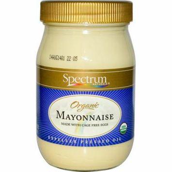 Spectrum Naturals, Organic Mayonnaise, 16 fl oz (pack of 12)