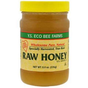 Y.S. Eco Bee Farms, Raw Honey, 8.0 oz (pack of 12)