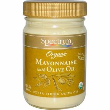 Spectrum Naturals, Organic Mayonnaise with Olive Oil, 12 fl oz (pack of 12)