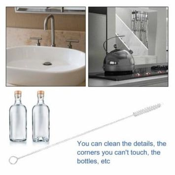 Nylon Straw Cleaners cleaning Brush for Drinking pipe stainless steel glass
