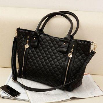 Women Lady Handbag Shoulder Bag Crossbody Tote Purse Hot Fashion PU Leather