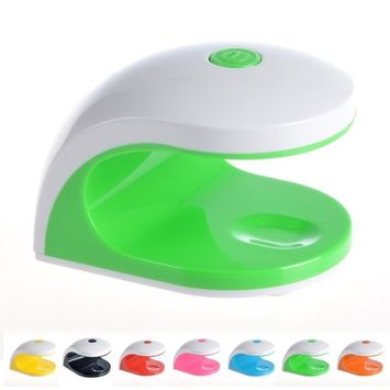 CoastaCloud Portable 2W Mini Nail Dryer UV Light Gel Nail Polish Cute Size Nail Tool with USB charging 45S timing-Professional Beauty Salon