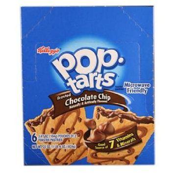 POP TART CHOCCHIP 3.67OZ by POP TARTS MfrPartNo 3800019721