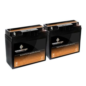 12V 20AH SLA Battery replaces 51814 6fm17 6-dzm-20 6-fm-18 lcx1220p - 2PK - S00013-2PK-00004