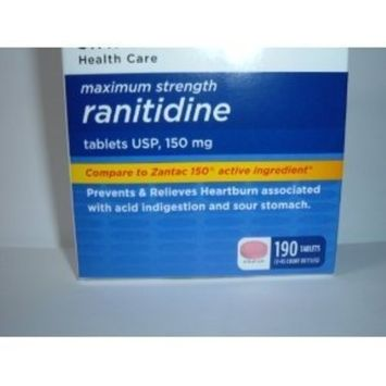 Members Mark Formerly Known as Simply Right Maximum Strength Ranitidine Acid Reducer, 190 Count