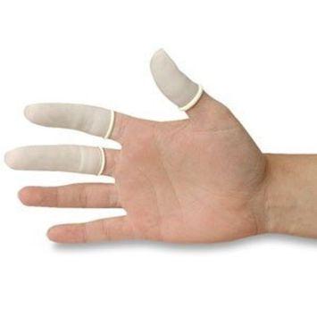 ex Finger Cots, White (144/Box) by DMI