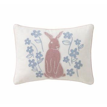 DwellStudio Boudoir Pillow, Rosette Blossom
