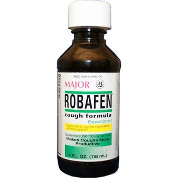 Robafen Cough Relief 100 mg Strength Liquid 4 oz.